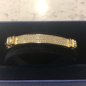 Swarovski Jewelry - Swarovski Gold Bangle